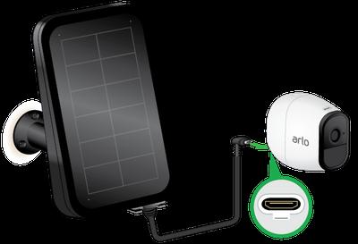 Incarcator solar arlo solar charger Arlo VMA4600