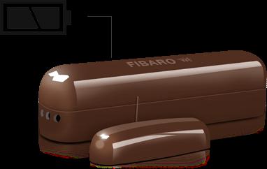 instalare rapida senzo magnetic fibaro pe baterii FGK-101