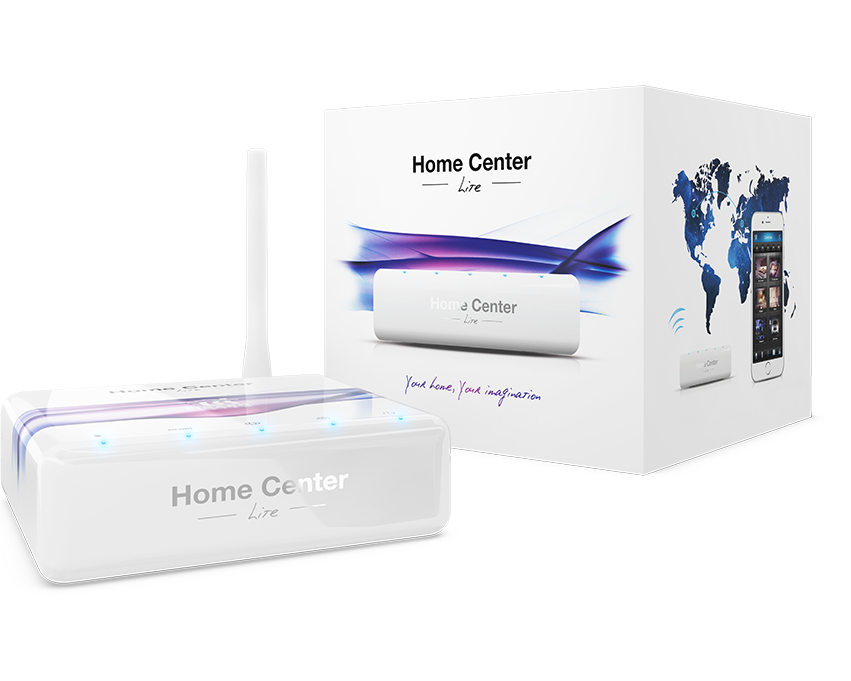 Unitate centrala Home Center Lite HCL, Z-Wave Plus, casa inteligenta, automatizare casa, pret